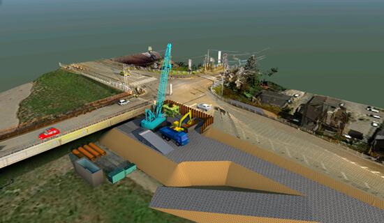 施工シミュレーション イメージ