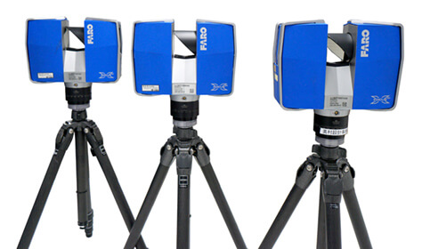 地上レーザー測量 主要機材
